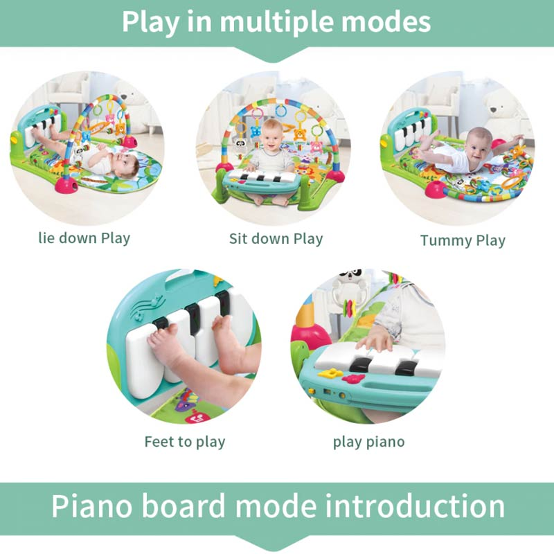 Piano Play Gym - Play Mat for Babies